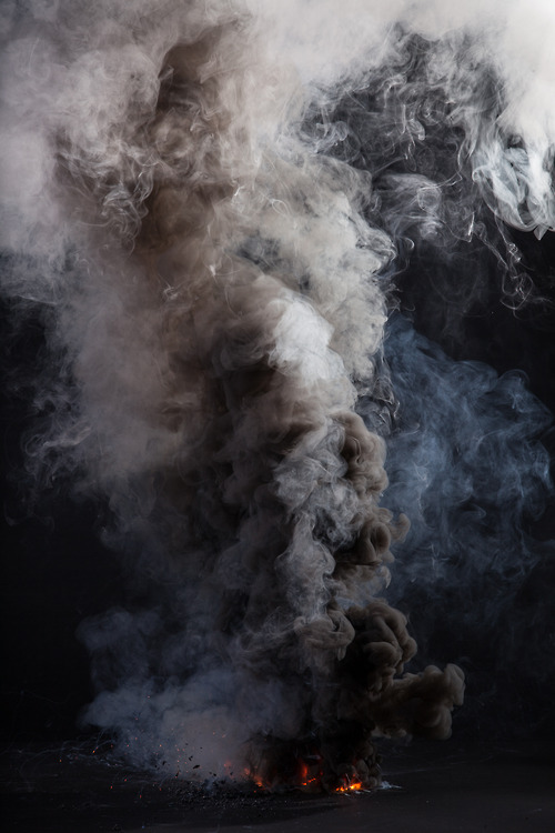 notesondesign: smoke & fire