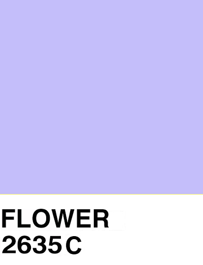 pantoneproject :      FLOWER:    #c4bef9   2635C
