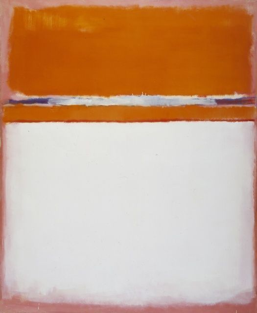 lesthetiquedelinventaire: Rothko number 18 1951