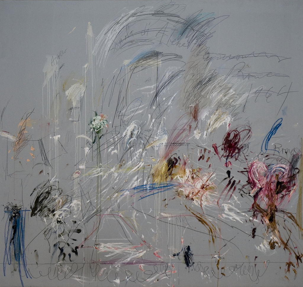 ammehoela: Cy Twombly . school of athens . 1964