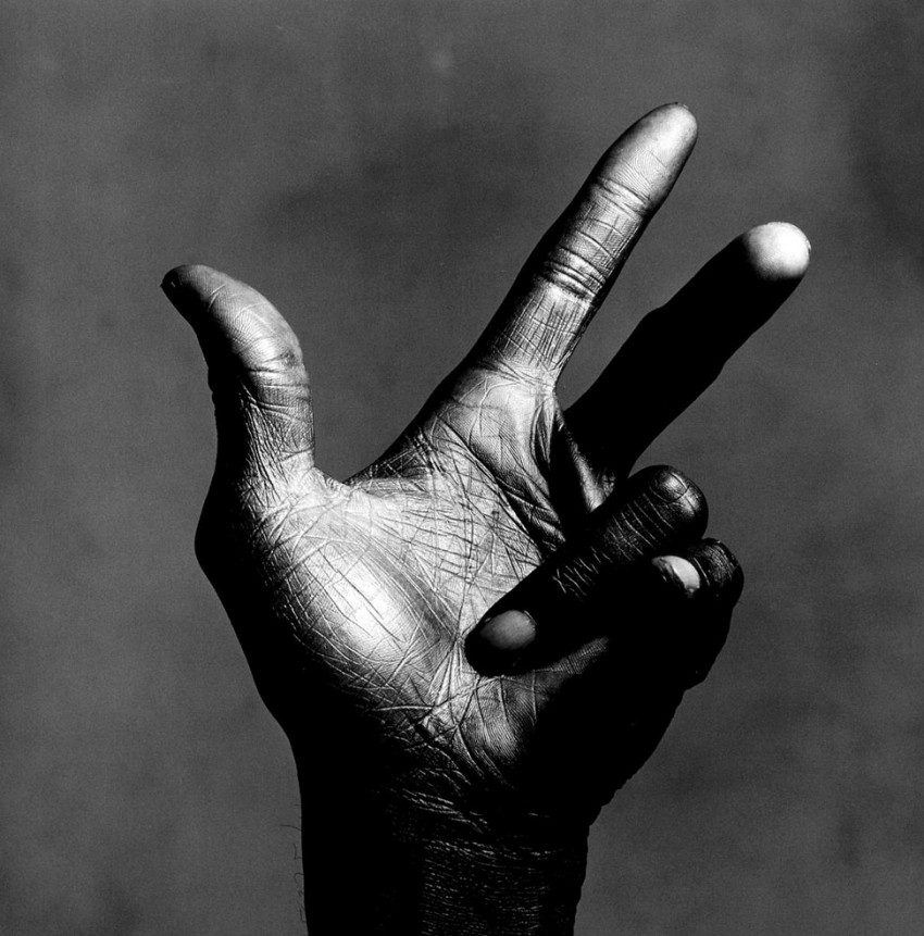 "minimalistblack :     ""Miles Davis"" by Irving Penn"