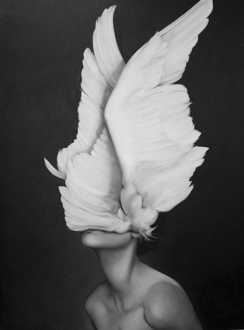 "takemetomountains: darksilenceinsuburbia: Amy Judd. Awakening. Oil on canvas, 30 x 40"". Release your mind from the cage your fears create."
