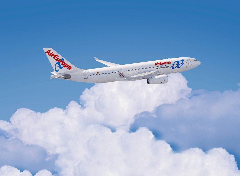 Air Europa y Cámara de Comercio/ EEUU