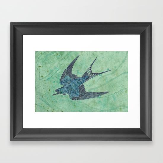 blue-swallow-on-green-framed-prints.jpg