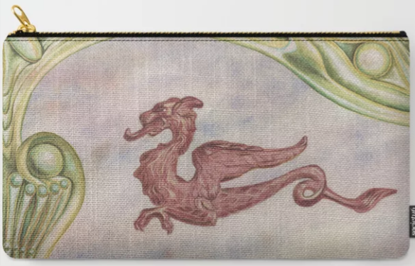 click on zipper pouch to see available sizes
