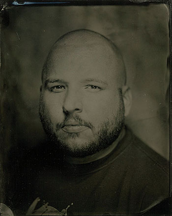 Tintype portrait by   Jeff Howlett   and  Chris Morgan