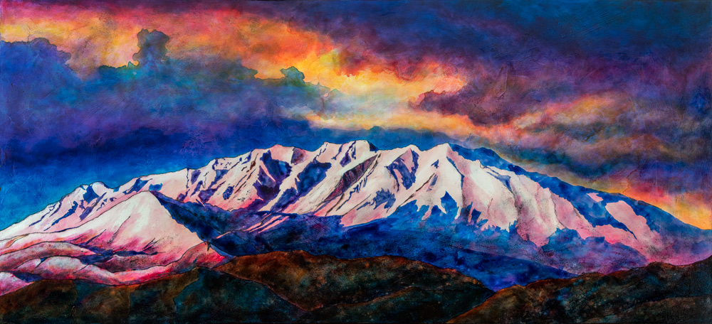 "Derrick Clements  from the Daily Herald with a terrific write-up of my show opening today!  ""Mt. Timpanogos gets a fresh face in new show at Writ & Vision"""