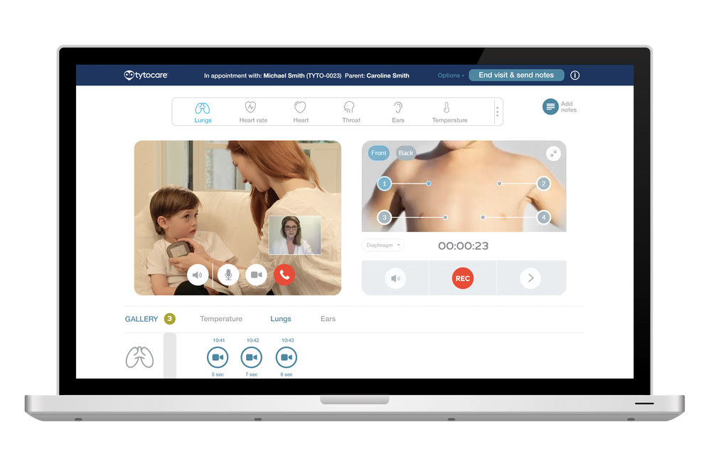 Clinician Interface