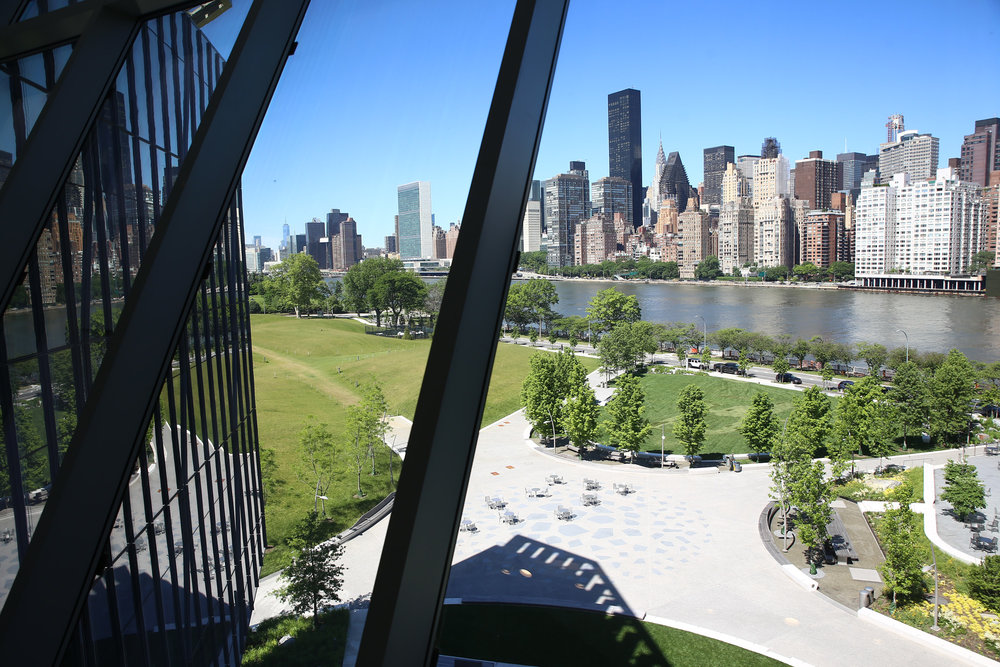 View from the Cornell Tech Innovation Center