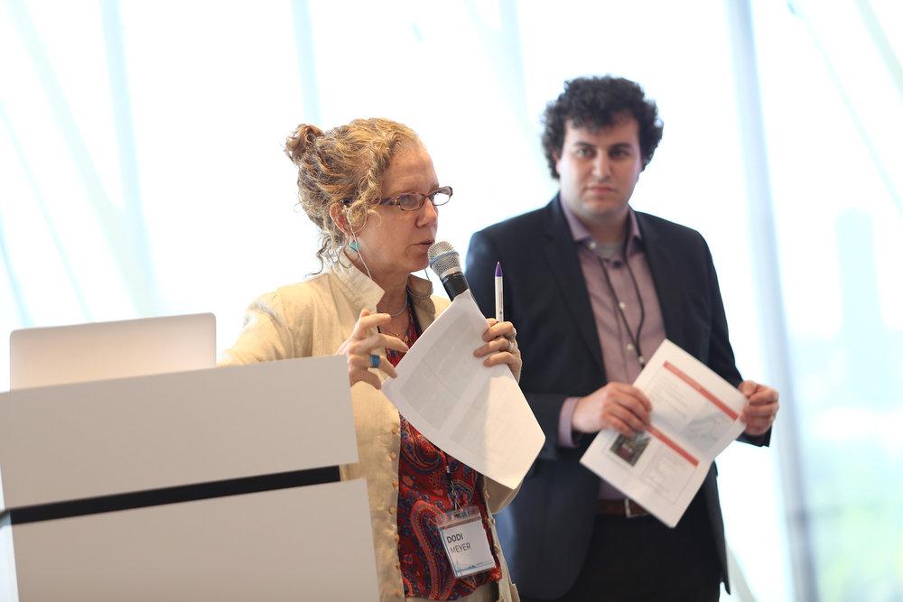 Dr. Dodi Meyer (left) and Isaac Kastenbaum (right)