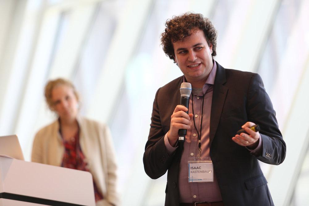 Isaac Kastenbaum describing the process of selecting determinant screening vendors