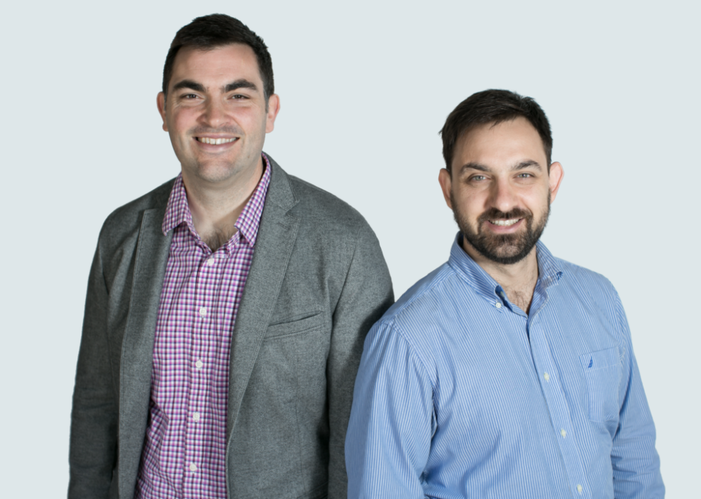Pierre-Jean Cobut (left) and Elad Ferber (Right) ,  co-founders of Spry Health