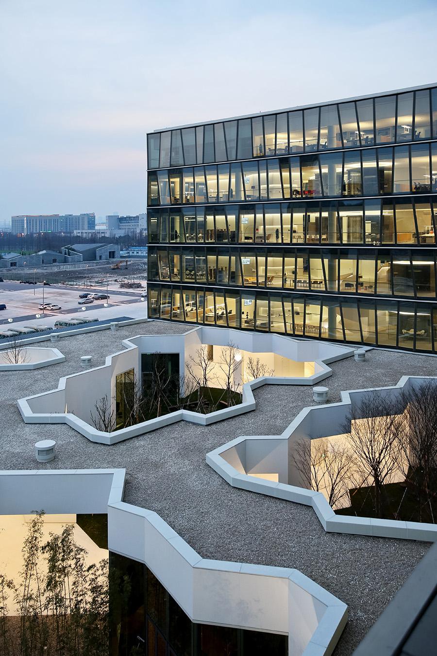 Image courtesy of ZAO/Zhang_Ke-Novartis Office Building