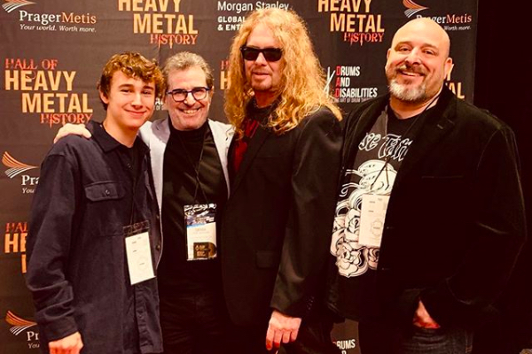 Jagger Alexander-Erber, Derek Shulman, John Sykes, Mark Alexander-Erber