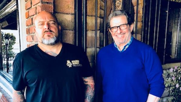 Mark Alexander-Erber and Derek Shulman