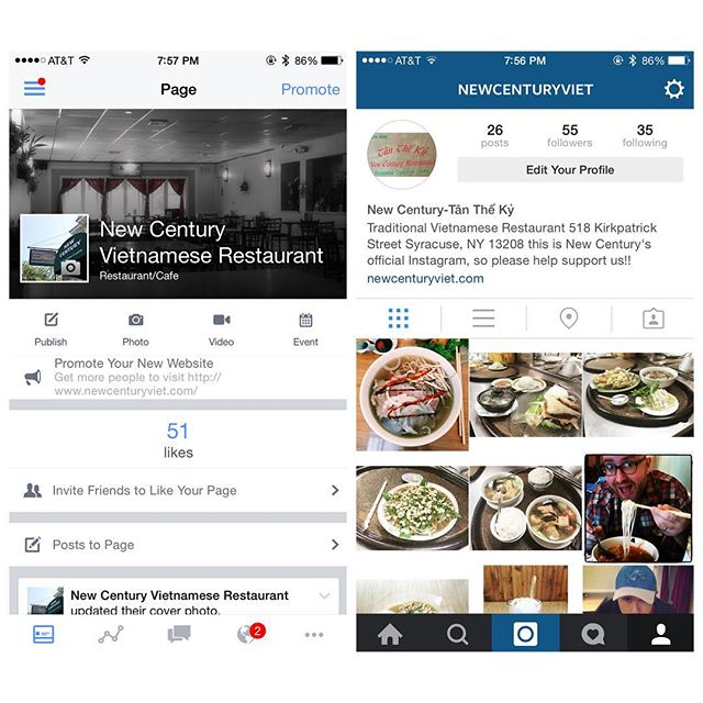 Please help like and share our restaurants Instagram and Facebook page! Help support us! We hope to become widespread and well known! Thank you everyone for tagging and allowing us to use your photos! Also, come checkout our new website (listed in our bio above)!