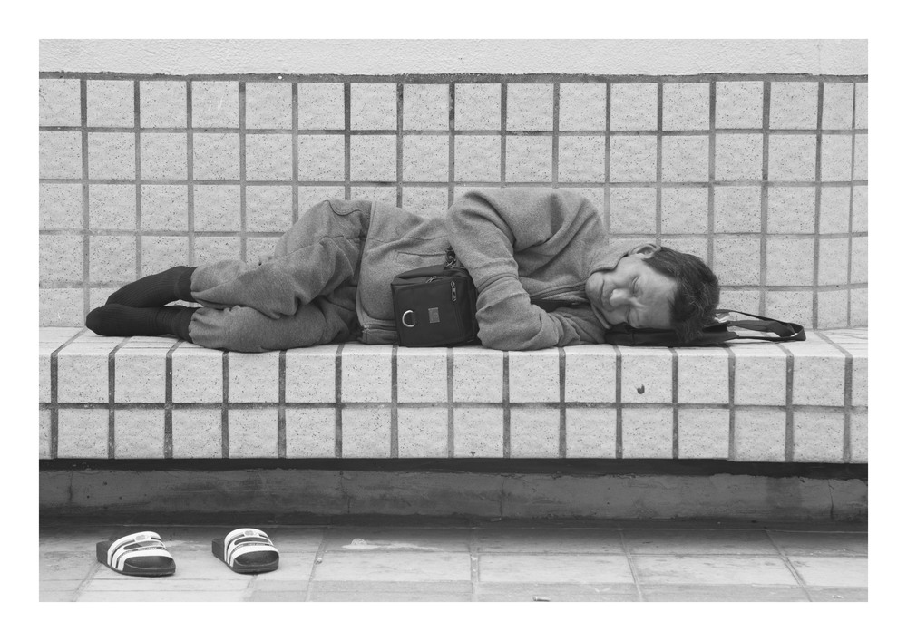 Homeless People In Hong Kong (2013)