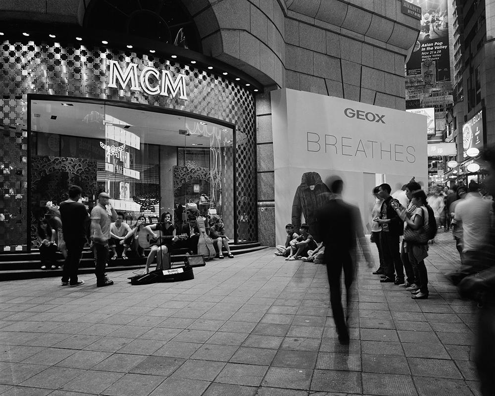 Night In Central, Hong Kong (2012)