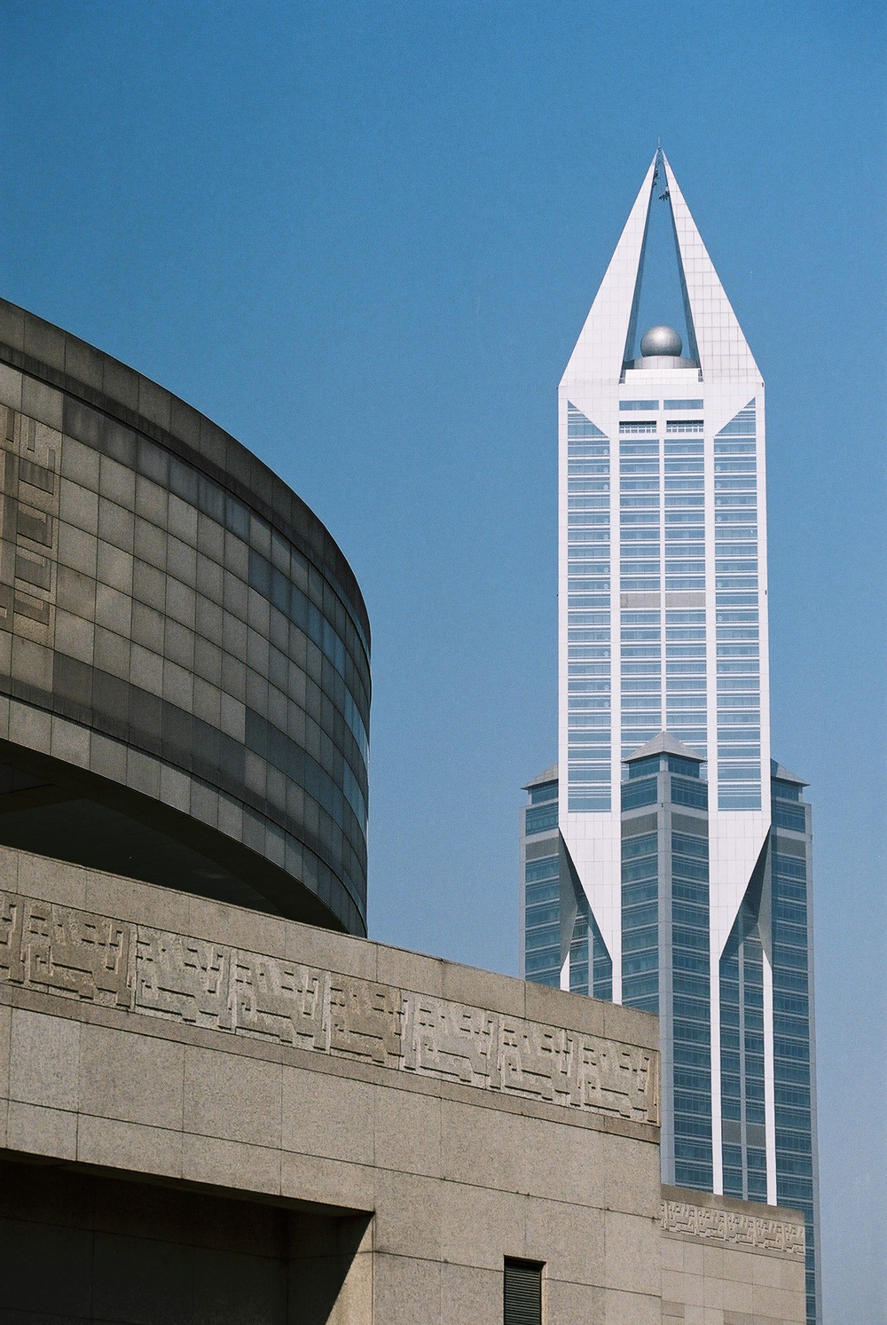 Shanghai Museum (1996) & Tomorrow Square (2003), Shanghai