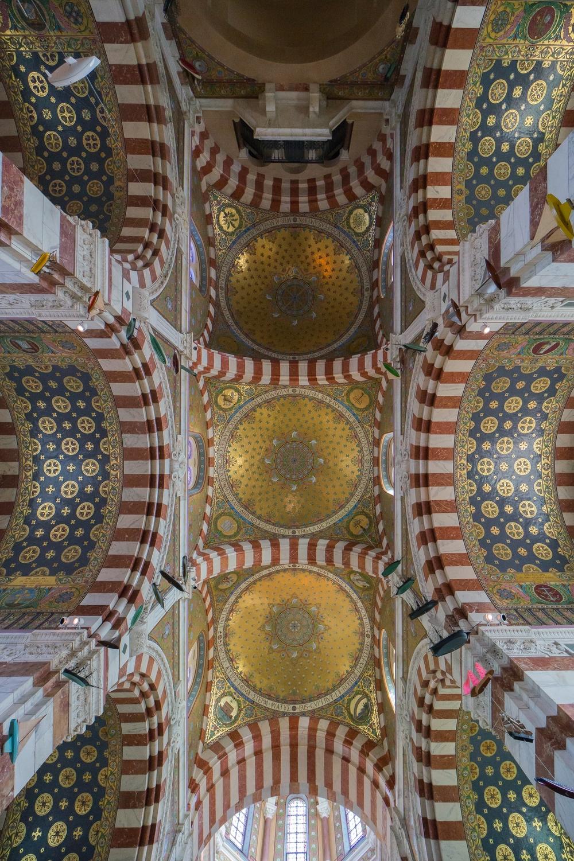Basilique Notre-Dame-de-la-Garde, Marseille, France (1853-1897)
