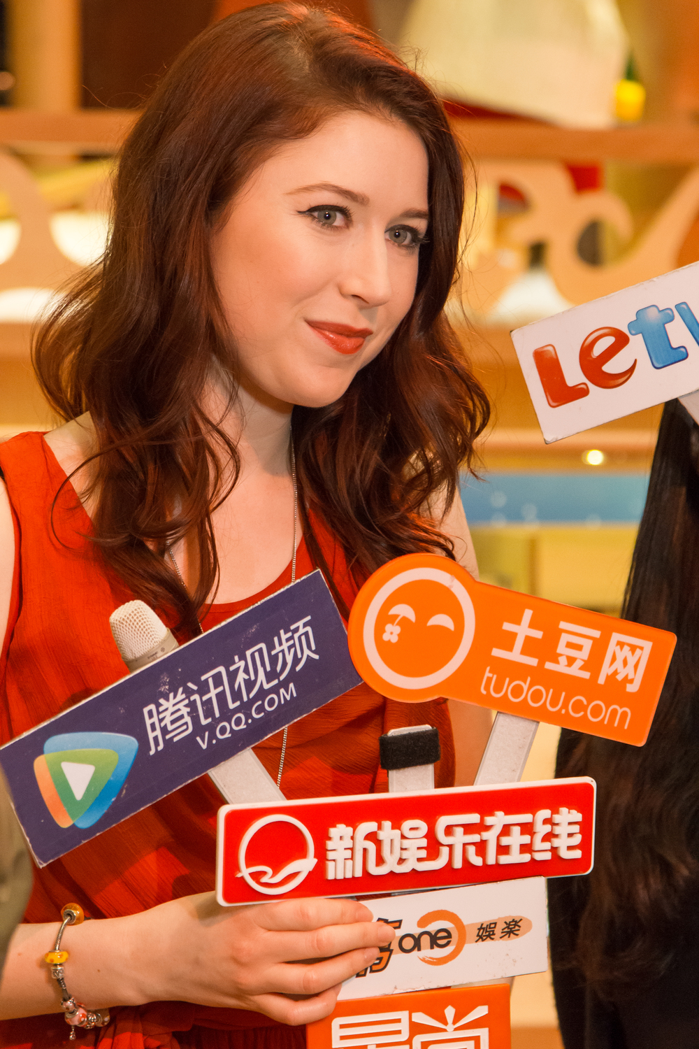 Hayley Westenra Being Interviewed (2009)