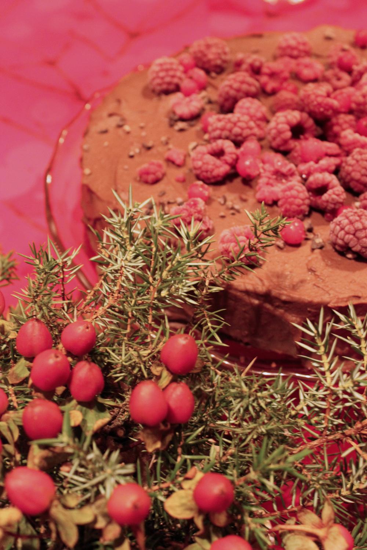 Suklaakuoren alle kätkeytyy palanen punajuurta.