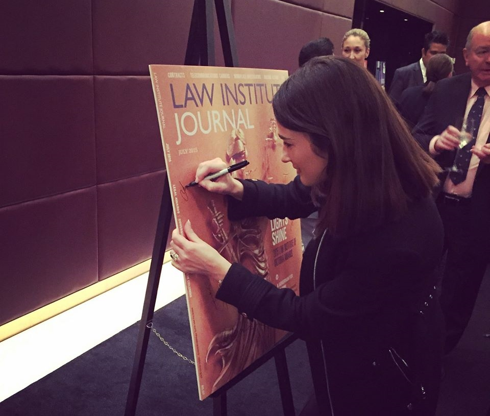 We had the honour in joining the Law Institute of Victoria celebrate the launch of the redesign of the Law Institute Journal (LIJ).