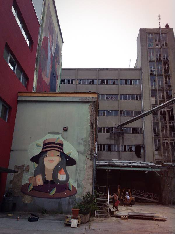 FRAU ISA  curated by INOPERAbLE, Graz  for  Livin' Streets Festival