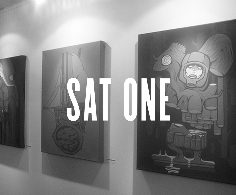 SatOne's show is opening this Friday the 13th, at 18 o'clock. Bring your friends, family, dog, neighbors, random guy you met on the bus, because this show is a real treat. I'm so excited SatOne found some time in his busy schedule to show his art in Vienna! Some of you might know the work of SatOne. He's been published in almost all the graffiti magazines at some point, and he's in numerous books. Plus if you have ever been to the Arena, I'm sure you've looked at it at least once. SatOne claims to be inspired by Nature and Organic shapes but when you look at his work its so amazingly clean it looks as if it was created by a machine! But maybe that's the secret and SatOne is a machine, with the amount of work he is able to produce commercially and personally, I wouldn't be surprised! SatOne has exhibited numerous times in about 10 countries and has worked for companies such as Burton, Adidas, and Langnese. He even has his own book produced in the Belio series! At the small chance you haven't come across his work yet, I have attached a small pdf with info about the artist and a couple sneak peaks at his work. You don't wanna miss it.
