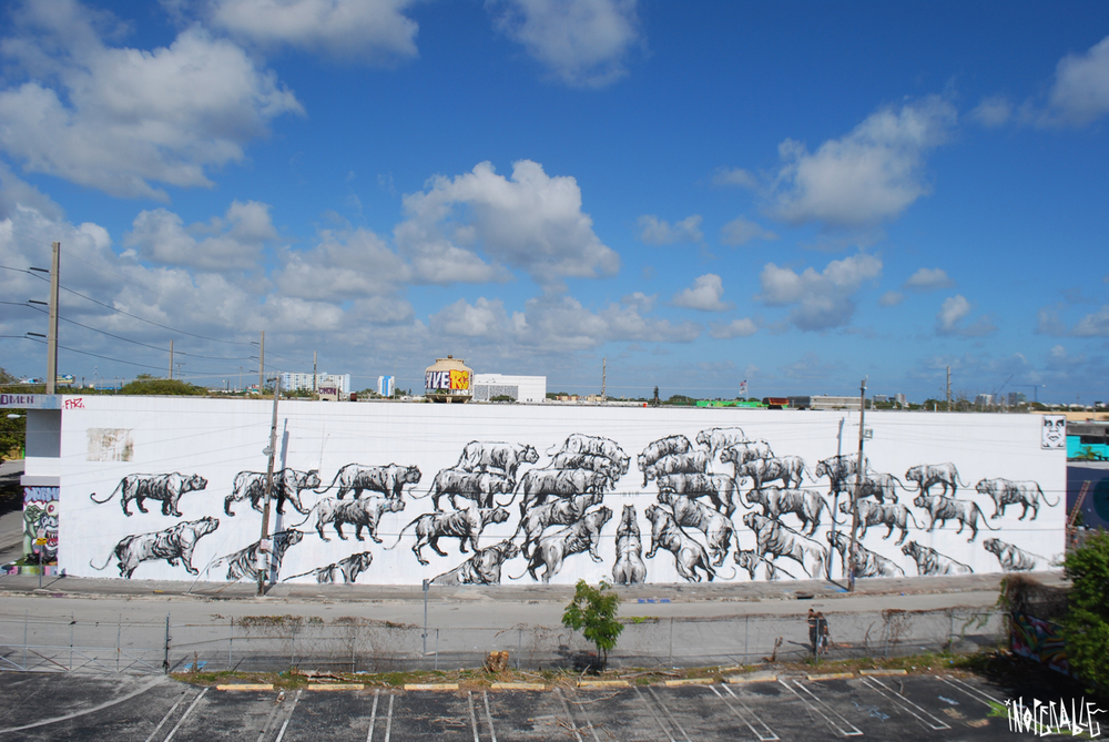 JAZ curated by INOPERAbLE, Miami Thanks Evoca1 and Yuri