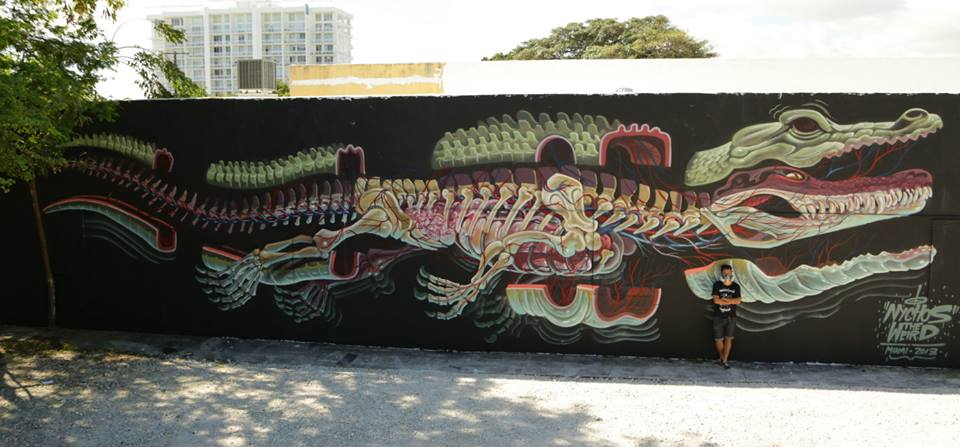 NYCHOS curated by INOPERAbLE, Miami Thanks Evoca1 and Yuri