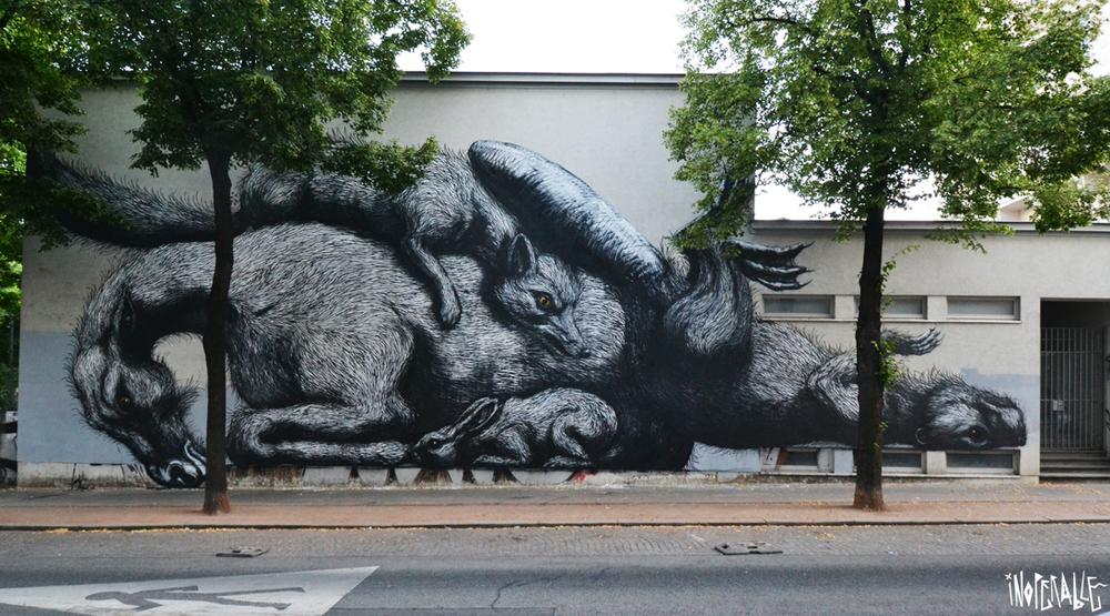 ROA Schadekgasse, Vienna Support KÖR
