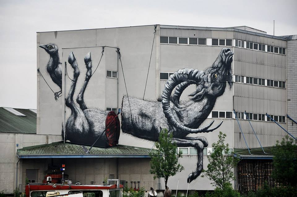 ROA in Linz Harbor (pics by flaps) in cooperation with Bubbledays Festival
