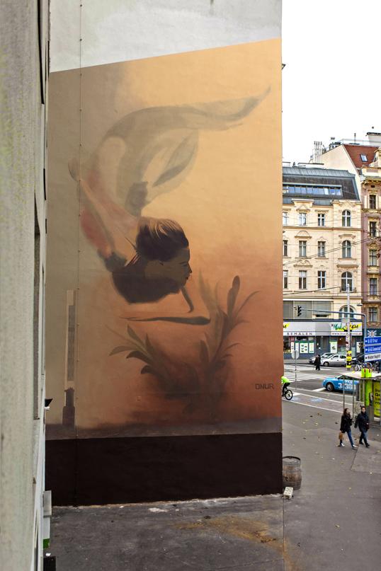 """ONUR """"Trapped"""" Margaretenstrasse, Vienna Special Thanks Hr. Seher."""