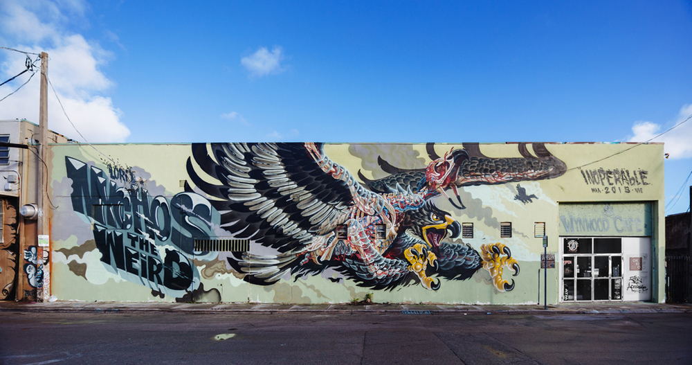 NYCHOS,  Wynwood Miami  Thanks Wynwood Cafe and Montana Cans. Photo by   Diana Larrea