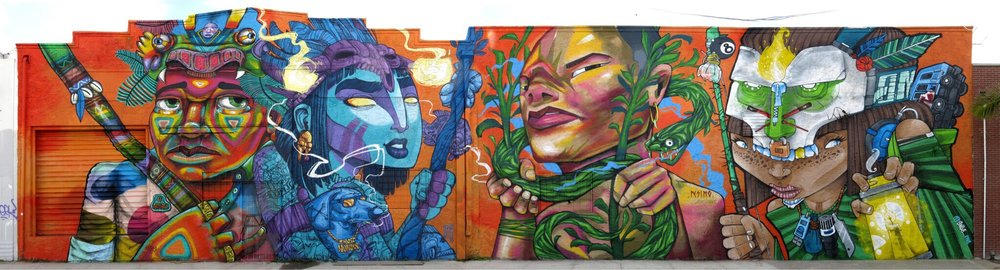 ENTES, OZ MONTANIA, PESIMO, SAILE ONE,  Miami FL  Thanks  Ironlak  &  Red Bull Peru