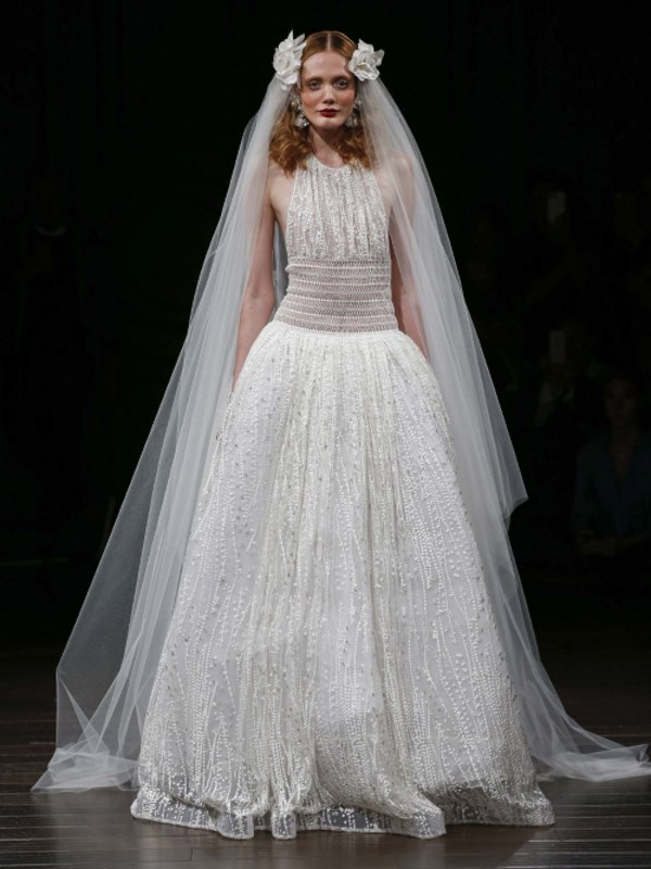 Naeem Khan Niagra gown available from  Helen Rodrigues .