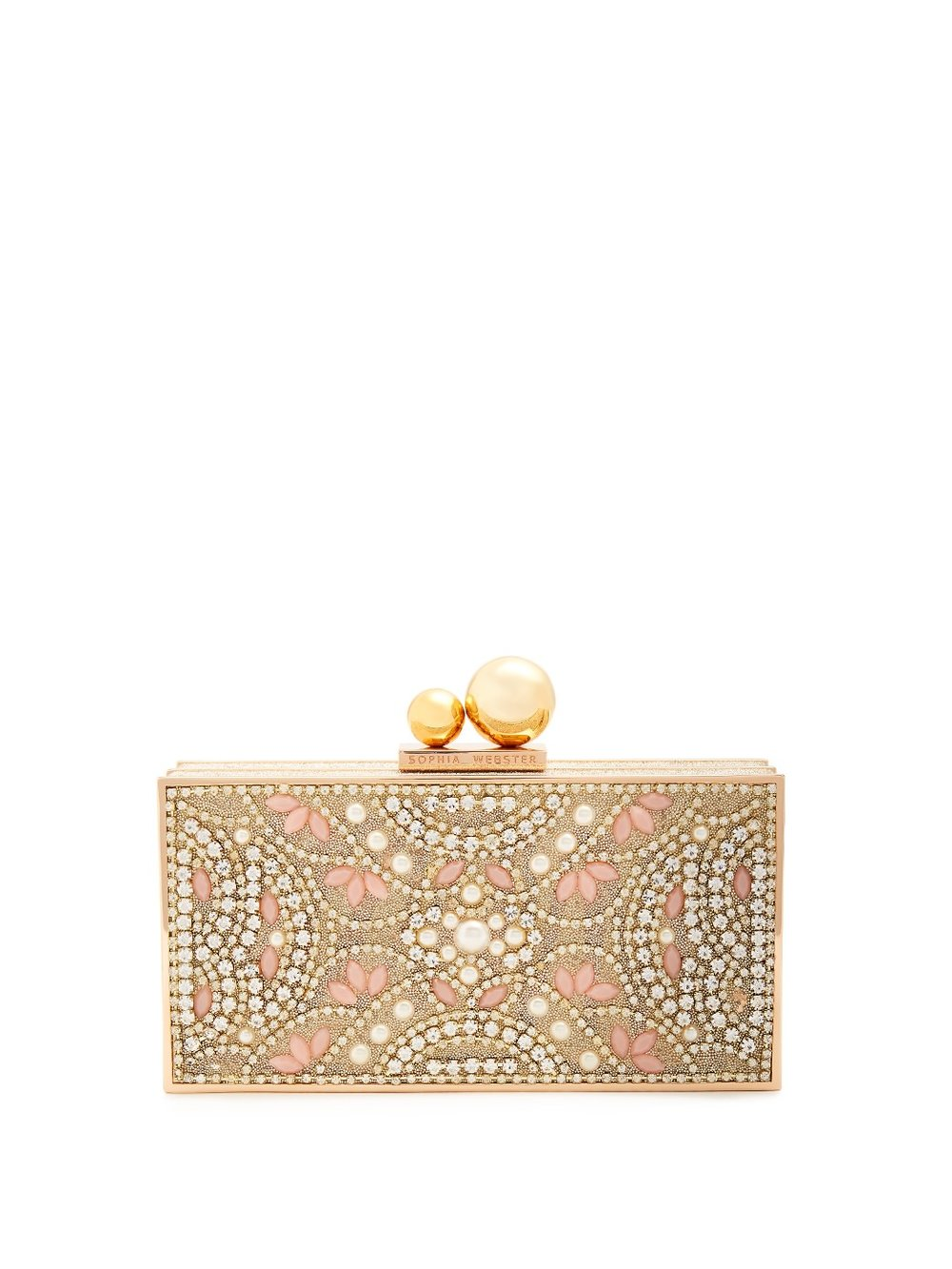 Sophia Webster Clara Crystal Box Clutch
