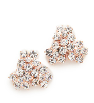 Jennifer Behr Violet Stud Earrings