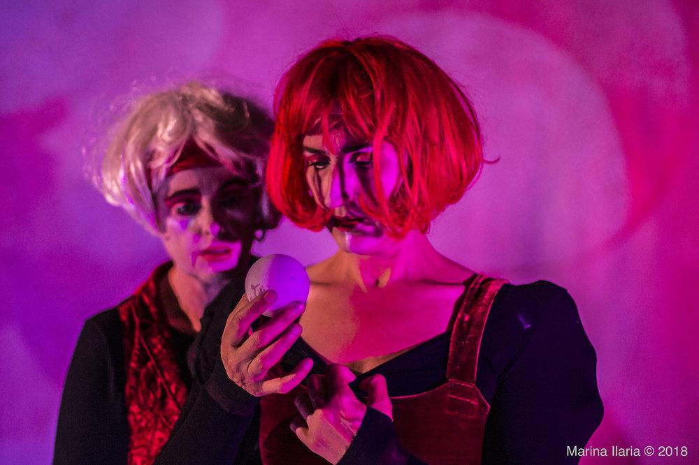 Eva Wendt & Birthe Heribertsson. Foto: Marina Ilaria. Högupplösta bilder finns vid förfrågan