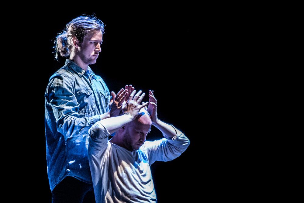 Emil Roos Lindberg och Johan Svensson. Foto: Rikard Björk.