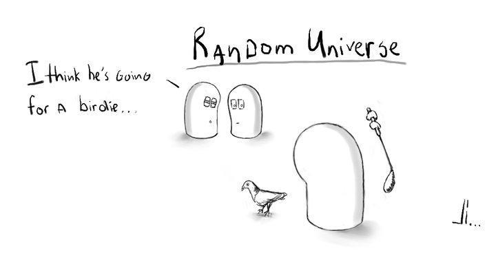 #1 - Random Universe - Birdie