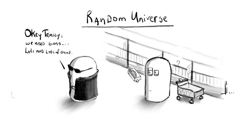 #16 - Random Universe - Matrix-Joris-Bax