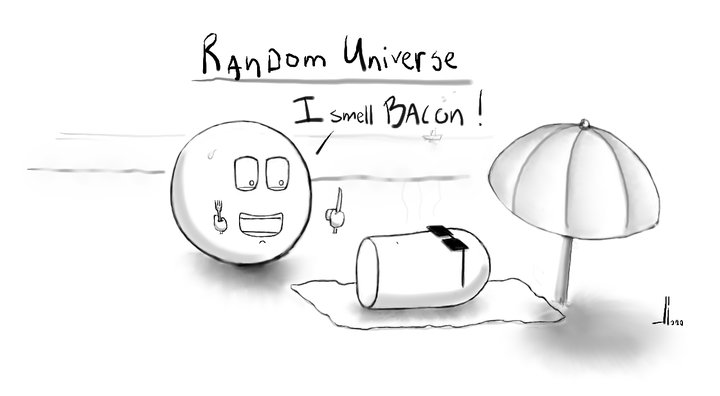 #25 - Random Universe - Bacon - jbax- Joris Bax