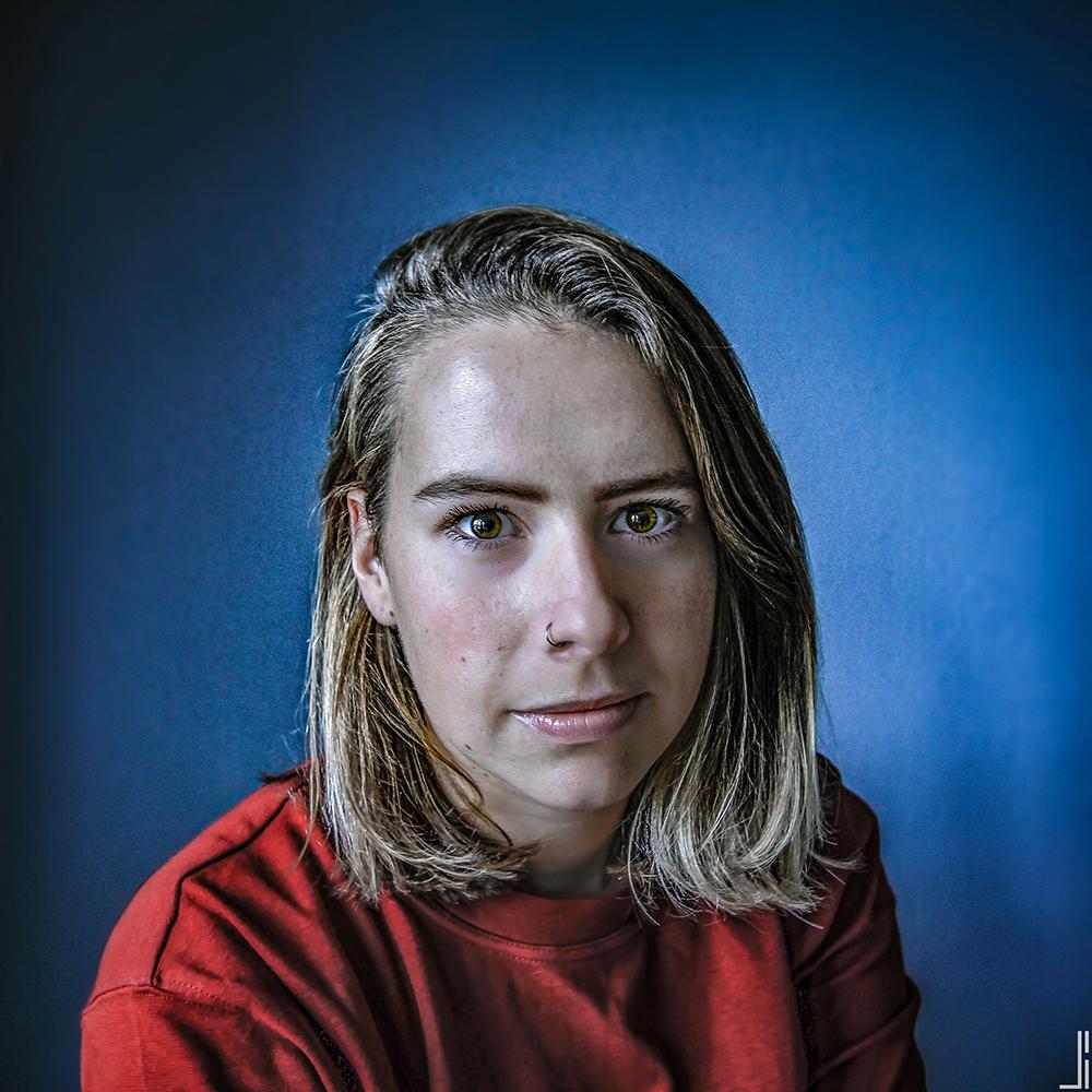 Nikki Vossen-Portretten-staal-jbax-joris bax