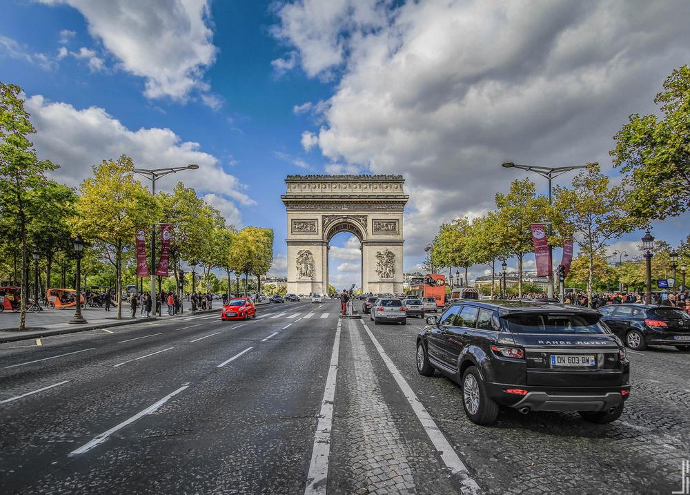 Arc de Triomphe - Paris-2 - Joris Bax - jbax.jpg