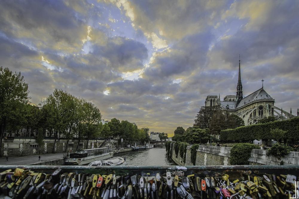 Notre Dam Locks Paris - Joris Bax - jbax.jpg