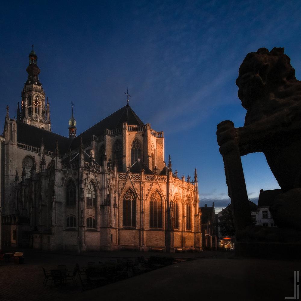 Grote Markt en Grote Kerk Breda - jbax