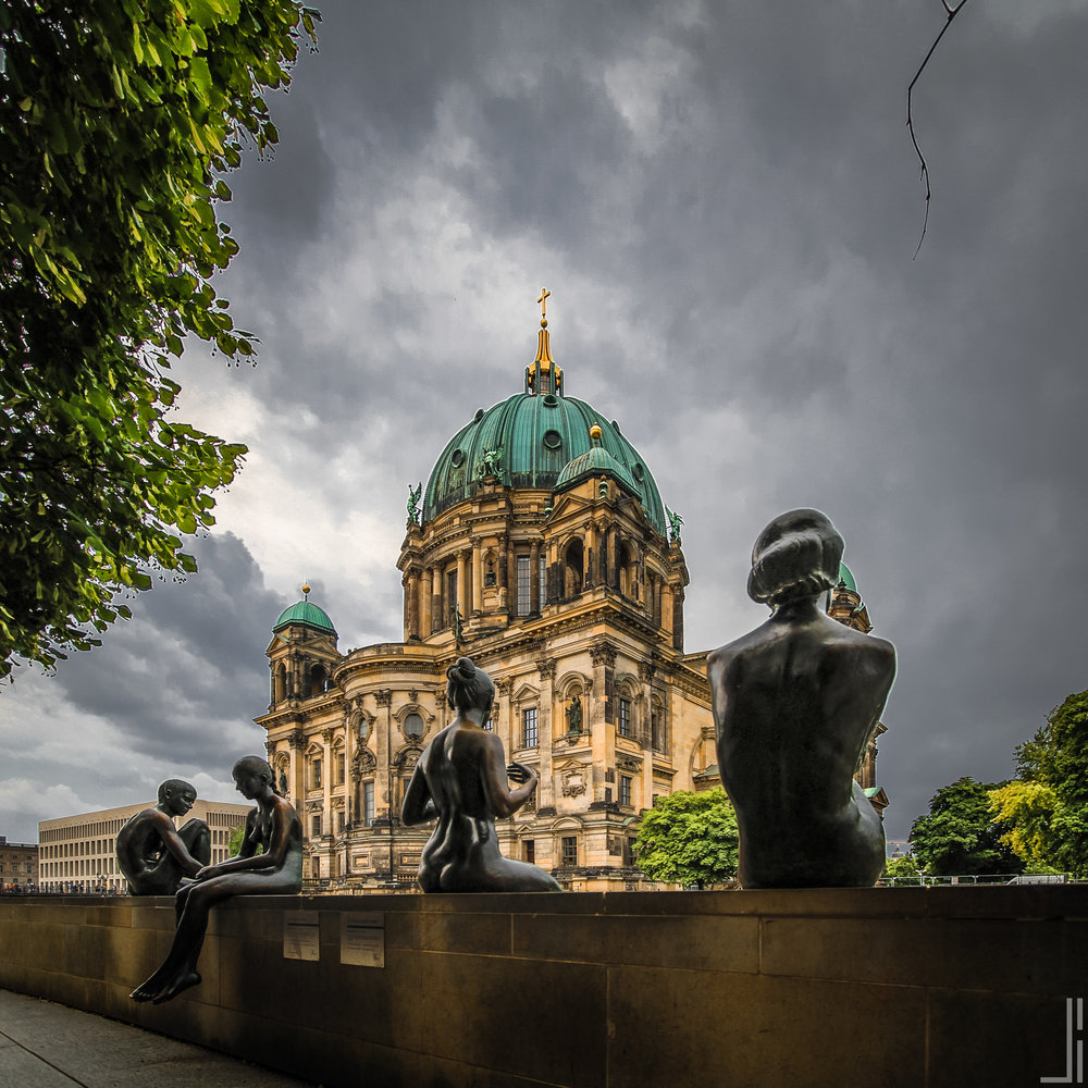 Berliner Dom Rainy Berlijn - jbax