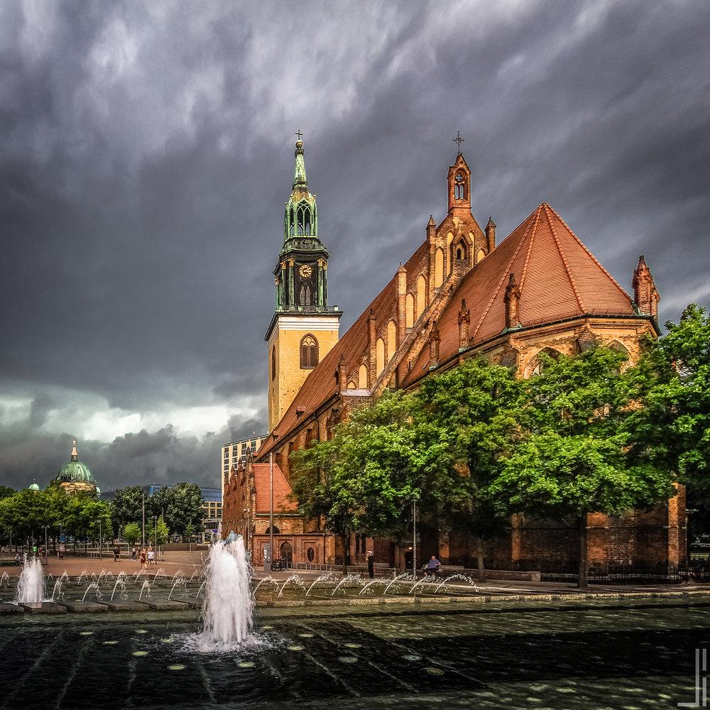 St. Marienkirche & Berliner Dom Berlijn - jbax